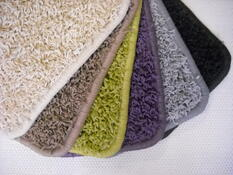 Kusový koberec Elite Shaggy černá, 60 x 110 cm