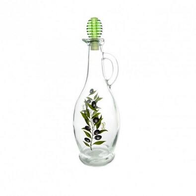 OLIV skleněná láhev na ocet/olej 0,75 l