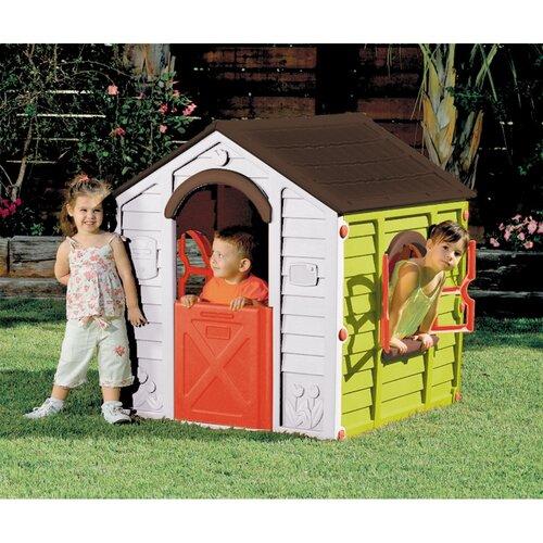 Keter Dětský domek Rancho zelená, 118 x 99 x 117 cm