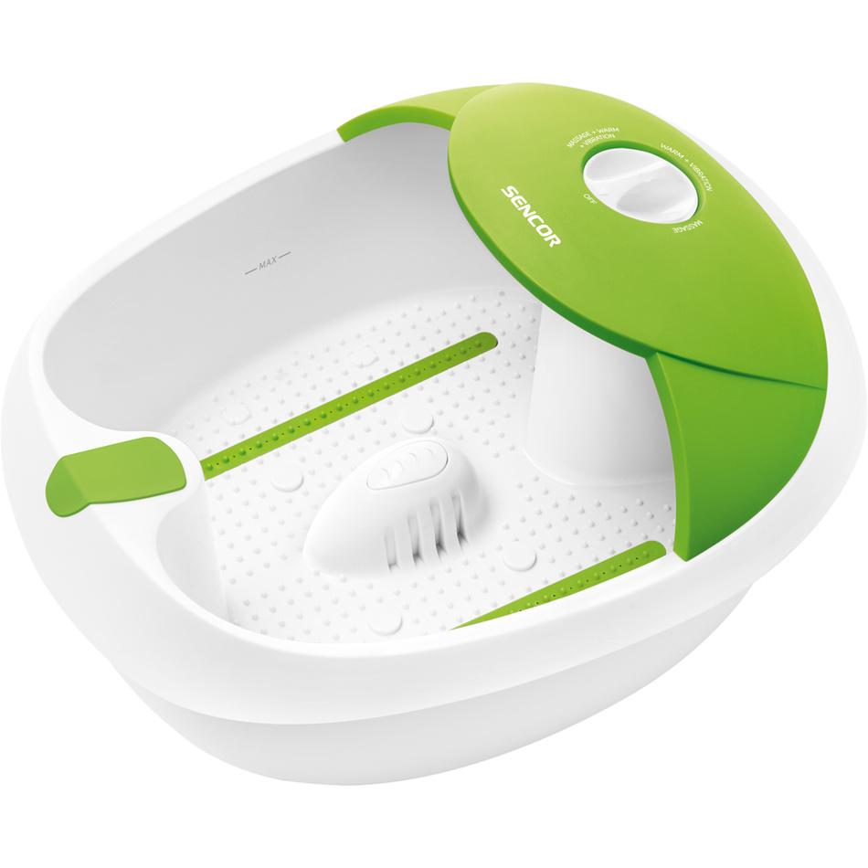 Sencor SFM 3721 VT urządzenie do masażu stóp, zielony