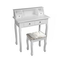 Toaletní stolek Rodes new, bílá