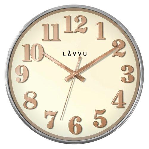 LAVVU HOME White LCT1160 Nástěnné hodiny