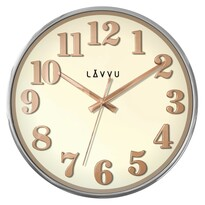Nástěnné hodiny Lavvu Home White LCT1160 bílá, pr. 32 cm