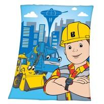 Pătură de copii Bob Constructorul, 130 x 160 cm