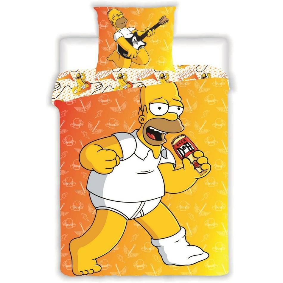 Jerry Fabrics Povlečení Simsons-Homer 2015 - 70x90 140x200