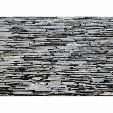 Fototapeta XXL Kamenná stena 360 x 270 cm, 4 diely