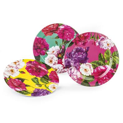 Blossom Sada dezertních talířů 20 cm, 3 ks