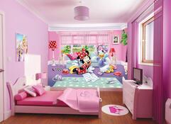 Fototapeta dětská DISNEY Minnie and Daisy , 360 x 270 cm