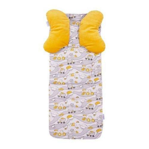 Babymatex Podložka do kočárku žlutá