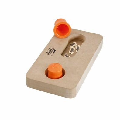 Karlie-Flamingo Interaktivní dřevěná hračka Gauss, 22 x 12 cm