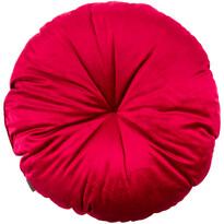 Domarex Vankúš okrúhly Velvet bordó, 50 cm