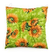 Sedák slunečnice zelená, 40 x 40 cm