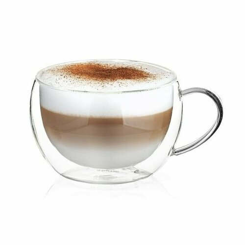 4Home Termo sklenice Big cappuccino HotCool 500 ml, 1 ks
