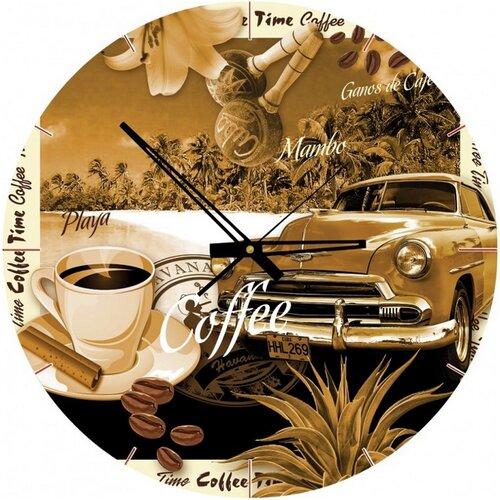 ART PUZZLE Puzzle hodiny Šálek kávy 570 dílků