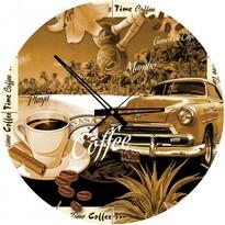 Art Puzzle hodiny Šálek kávy, 570 dílků