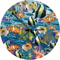 Art Puzzle hodiny Svět mořských ryb, 570 dílků
