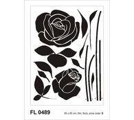 Samolepicí dekorace Růže