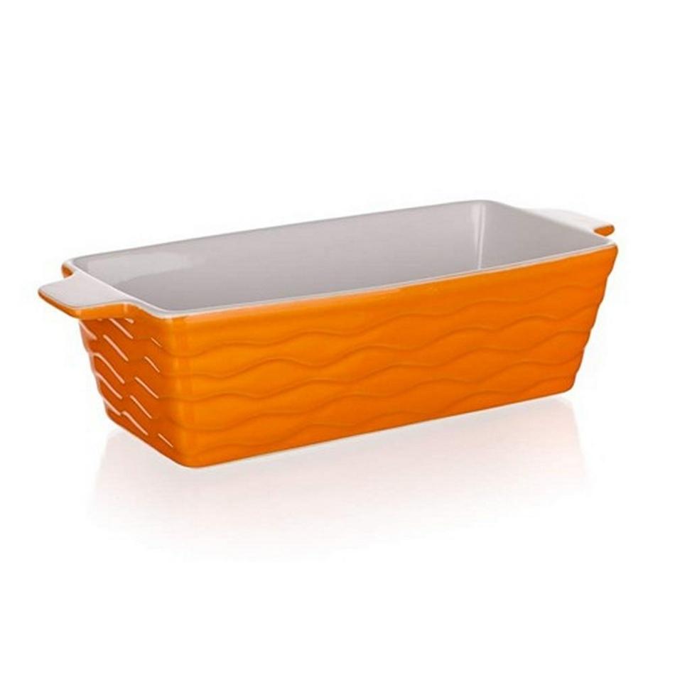 Fotografie Banquet Culinaria Orange zapékací forma obdélník, 29,5x12,5cm