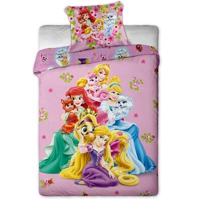 Dětské bavlněné povlečení Princess, 140 x 200 cm, 70 x 90 cm