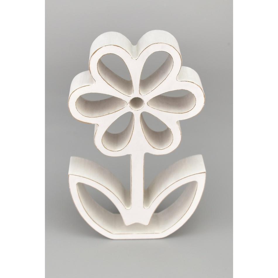 Dřevěná květina, 15,5 cm