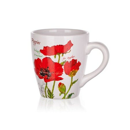 BANQUET Red Poppy hrnček 500 ml
