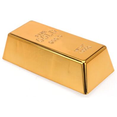 Zarážka na dveře zlatá cihlička
