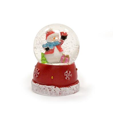 Vánoční sněžítko barevné