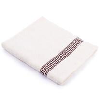 """Ręcznik """"Greek"""" kremowy, 50 x 90cm"""
