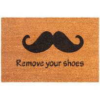 Remove Your Shoes kókusz lábtörlő, 40 x 60 cm