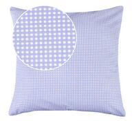 Polštářky Rita fialová kostička, 40 x 40 cm