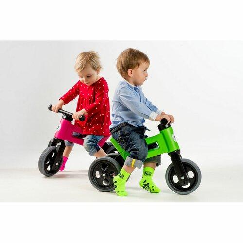Teddies Odrážadlo Funny wheels Rider Sport 2v1, zelená