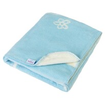 Detská deka Teddy modrá, 75 x 100 cm