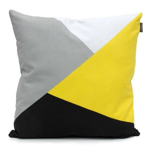 "Domarex Povlak na polštář Yellow Space Love ""ULTRA"", 45 x 45 cm"