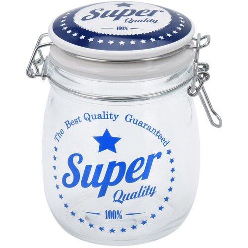 Sklenice s víkem Super Quality 1 l