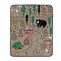 Pătură pliabilă de camping Butter Kings Camping, 145 x 180 cm