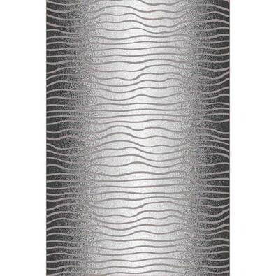 Habitat Kusový koberec Luna waves černá, 160 x 230 cm