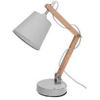 Koopman Stolná lampa Pastel tones biela, 45 cm