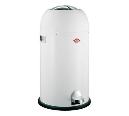 Odpadkový koš Wesco Kickmaster, bílý, 33 l, bílá