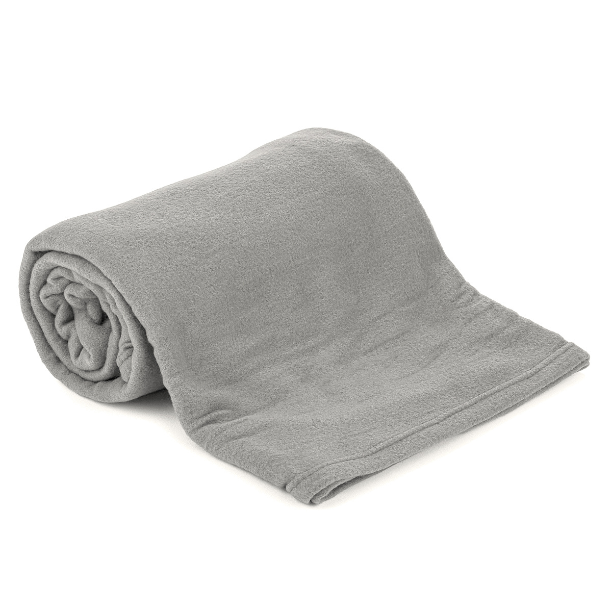 Jahu Fleecová deka UNI šedá, 150 x 200 cm