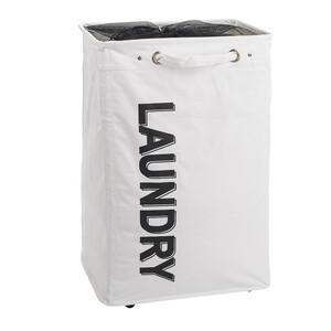 Koš na špinavé prádlo, bílá