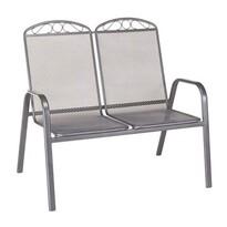 Happy Green Záhradná oceľová stolička Garde Double, 106 x 69 x 93 cm