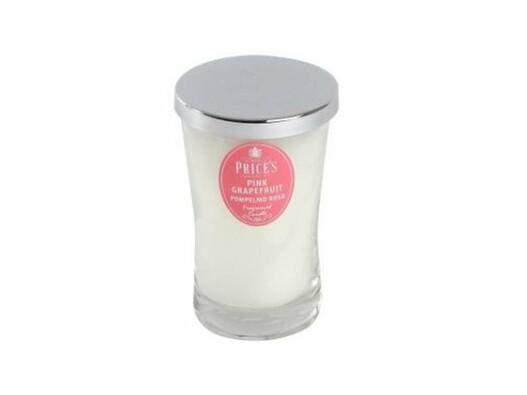 Price´s vonná svíčka ve skle růžový grapefruit 13 cm
