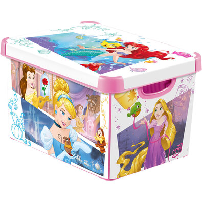 Curver Dekorační úložný box Princezny L, 20 l