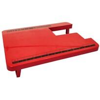 Guzzanti GZ 1191 prídavný stolík, červená
