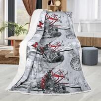 Bellatex Beránková deka Abela Romantika, 150 x 200 cm