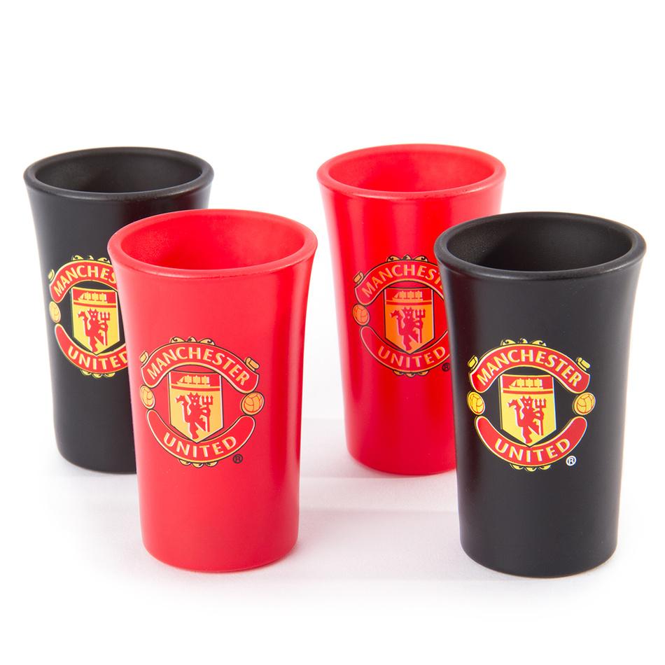 FC Manchester United Set 4 poldecákov, Colored