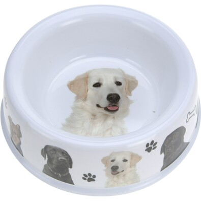 Miska pro psa Dog, bílá
