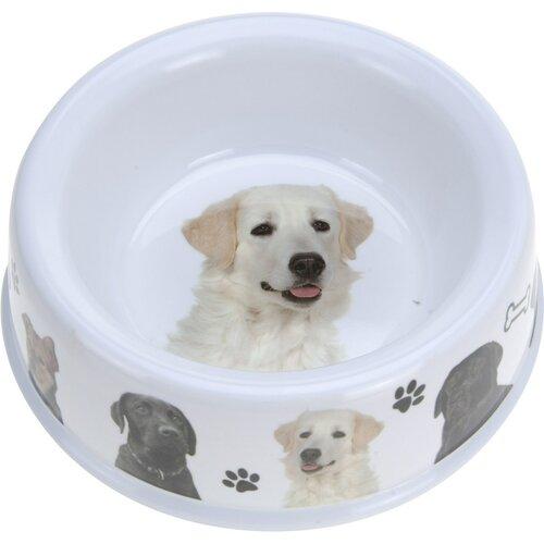 Miska pre psa Dog, biela