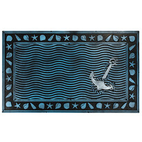 Gumová rohožka Podmořský svět, 40 x 60 cm