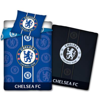 Bavlněné povlečení Chelsea FC, 140 x 200 cm, 70 x 80 cm